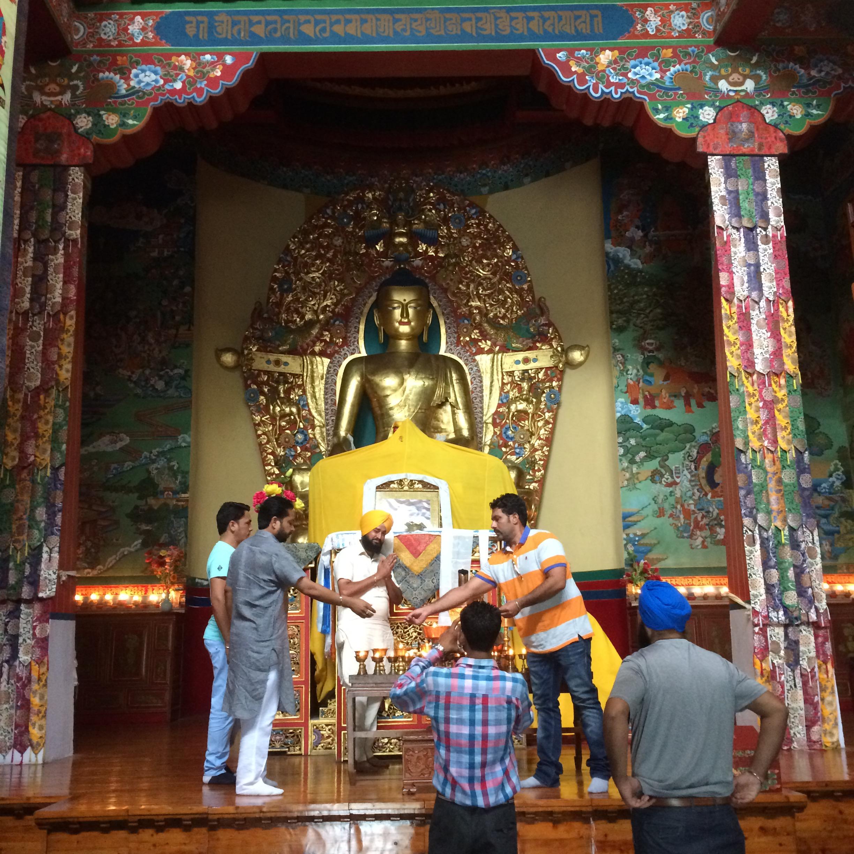 Templo en el Centro Cultural Norbulingka